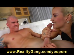 cheating big-tit girlfriend is drilled hard by