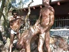 juvenile twinks having wild hardcore sex outdoors