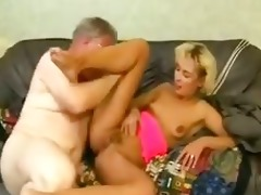 young daughter drilled hard by dad