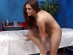 hot 14 year old gril acquires drilled hard