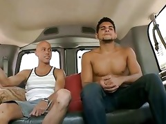 lusty transaction with young homosexual