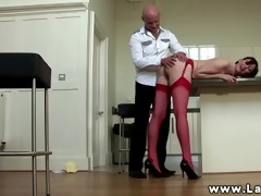 large titted euro honey getting fingered then