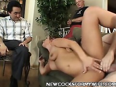 youthful wife enjoys cock ramming