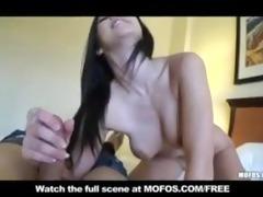 youthful skinny lalin girl natural-tit girlfriend