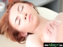 outstanding sexy cutie acquires a fleshly massage