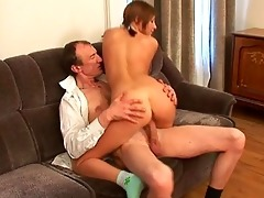 sexually excited old teacher is humping babes