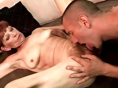 wicked old redhead enjoys priceless fucking
