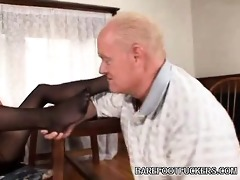 ryder acquires foot worshipped