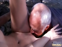 oldman have to pleasures lascivious juvenile