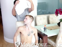 hd - manroyale shaving time receives steamy for