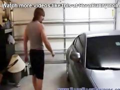 dad copulates me in the garage