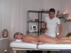 massage rooms sexually excited golden-haired has