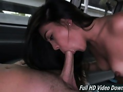 kitty bangbus hawt youthful brunette hair