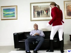 juvenile euro slut pussydrilled by old chap
