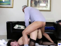 stylish hotties threeway with sexually excited