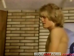 youthful lads fuck and are watched by a voyeur -
