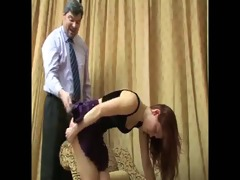 daughter+girlfriend are spanked 37
