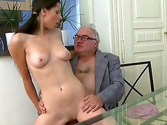 old trainer acquires dick loving act