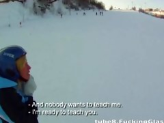 snowboarder honey t live without schlong