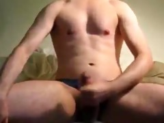 stripping and teasing myself part7