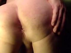 teasing my a-hole n cumming