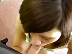 juvenile brunette legal age teenager oral