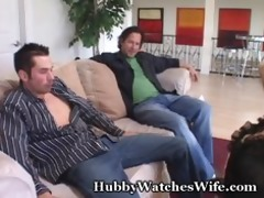 tasty wifey group-fucked by young dude