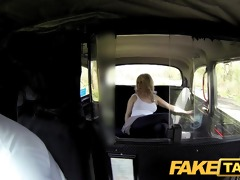 faketaxi sexy golden-haired tourist in st time