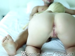 passion-hd blonde drilled doggy-style by thick