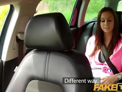 faketaxi taut legal age teenager with large