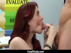 carnal excitement with hawt schoolgirl chick 5
