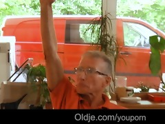 seven old weenies drills hard pleasing blond