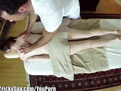 trickyspa sly masseur thrusts rod into polish