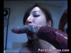 breasty juvenile oriental hotty receives