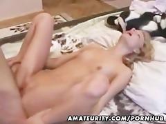 charming dilettante girlfriend sucks and bonks