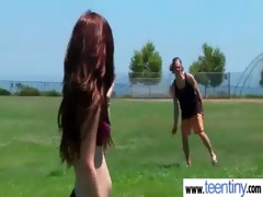slim small legal age teenager acquires her vagina