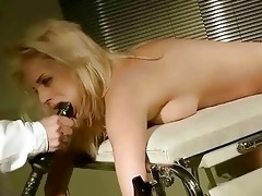 youthful blond receives painfully punished and