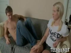 marvelous legal age teenager meets a shlong