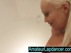 118yo blond student, lapdancing and blowing
