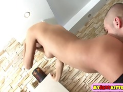 juvenile girls fuck in a trio
