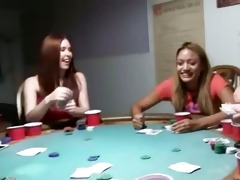 young coeds fucking on poker night