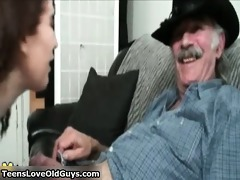 he is is old but his knob is biggest and willing