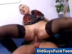 old chaps fuck hot younger chick