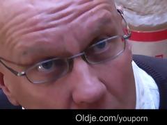 youthful naughty natali bonks bussines oldman