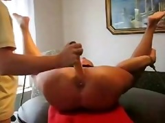 brutal marital-device and fisting in anal