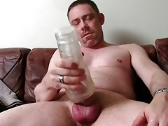 sexy str dad tucker masturbating