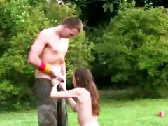 juvenile sexually excited pair fuck in outdoor