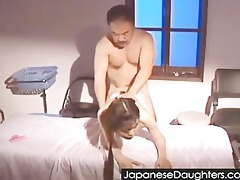 dad nice japanese daughter...