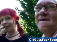 old chap blowjob by hawt younger sweetheart