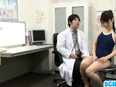 youthful babe screwed by sexually excited doc